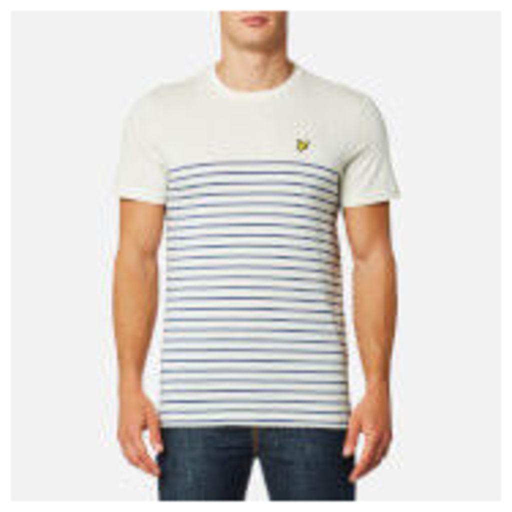 Lyle & Scott Men's Breton T-Shirt - Storm Blue