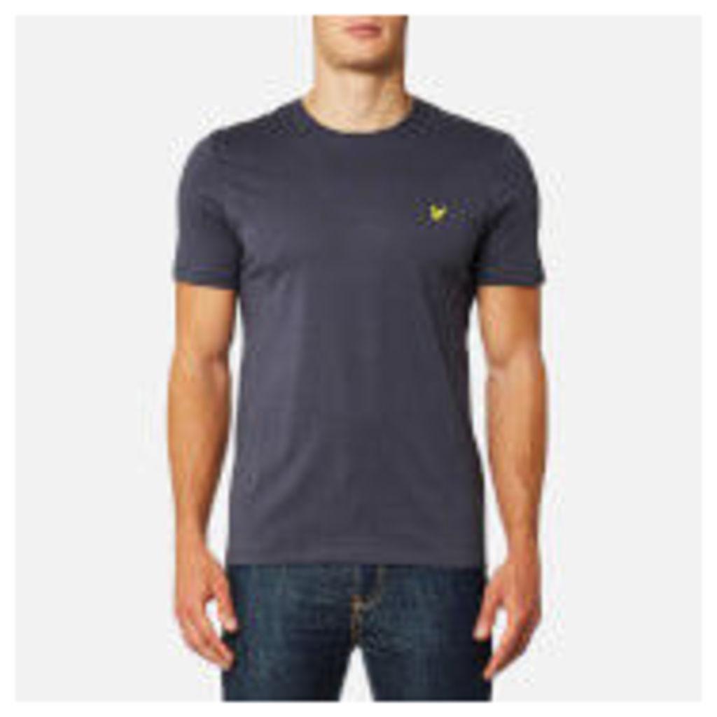 Lyle & Scott Men's Plain Pick Stitch T-Shirt - Washed Grey