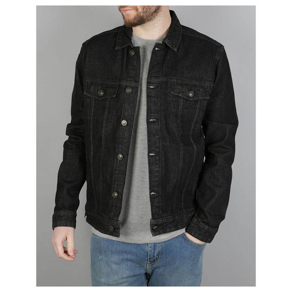 Altamont Ryder Denim Jacket - Black (S)