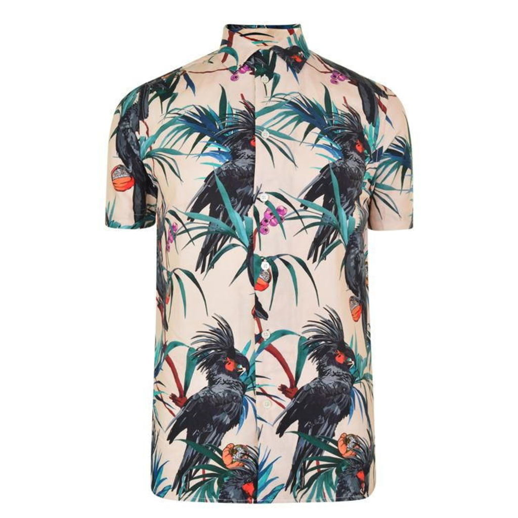 PS BY PAUL SMITH Short Sleeved Jungle Shirt