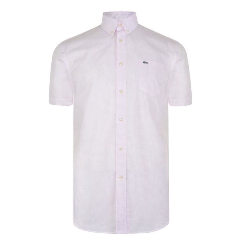 LACOSTE Short Sleeved Shirt