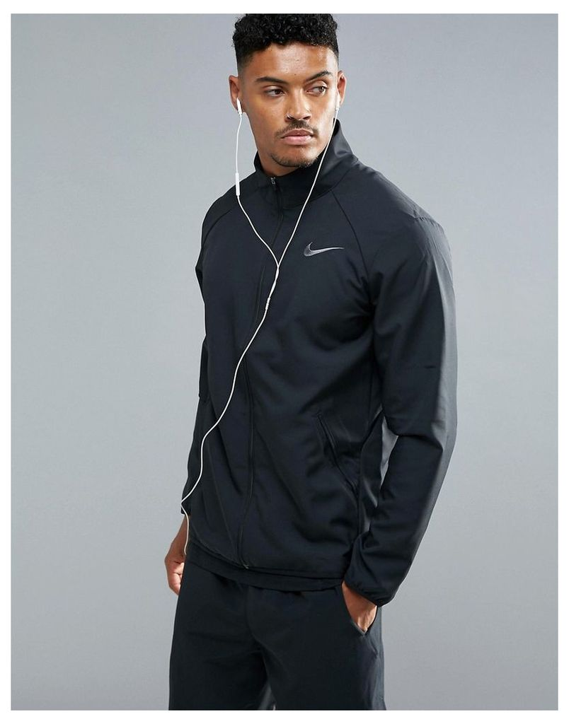 Nike Training Dri-FIT Woven Jacket In Black 800199-010 - Black