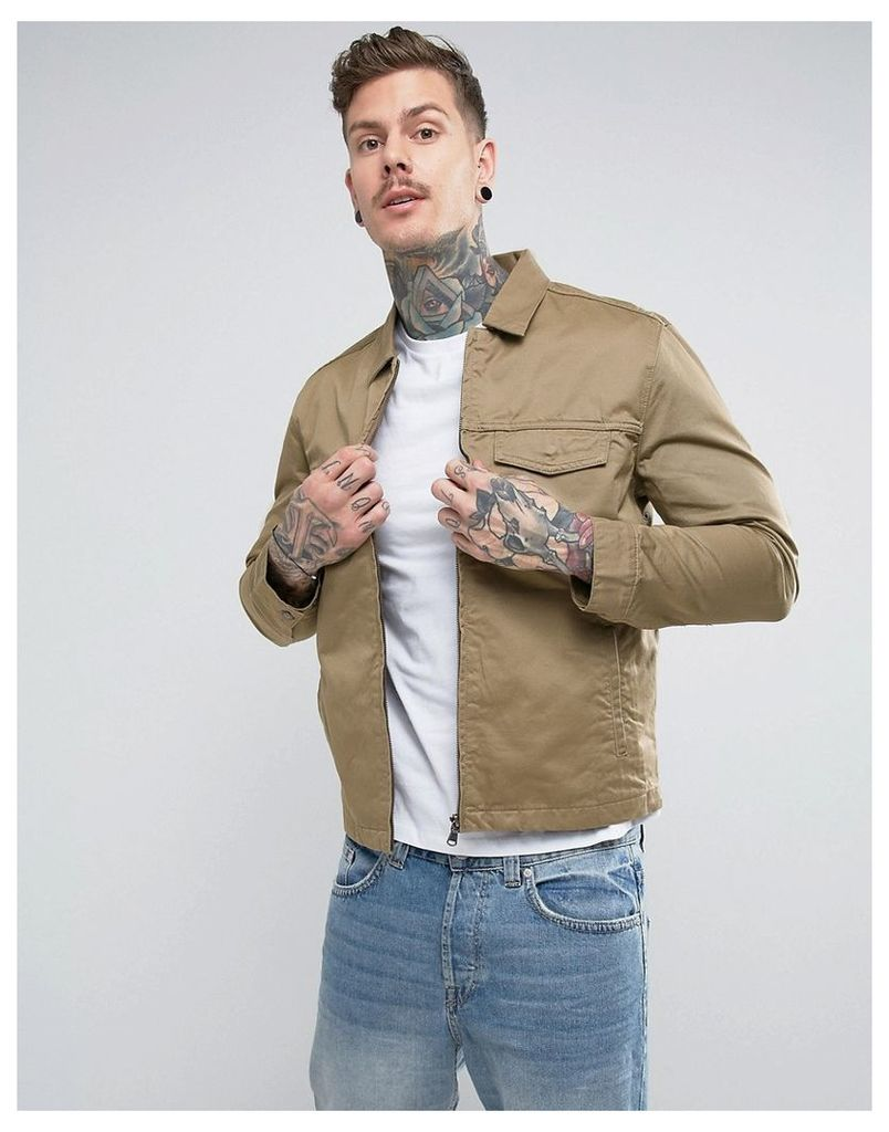 Levis Harrington Trucker Jacket - Beige