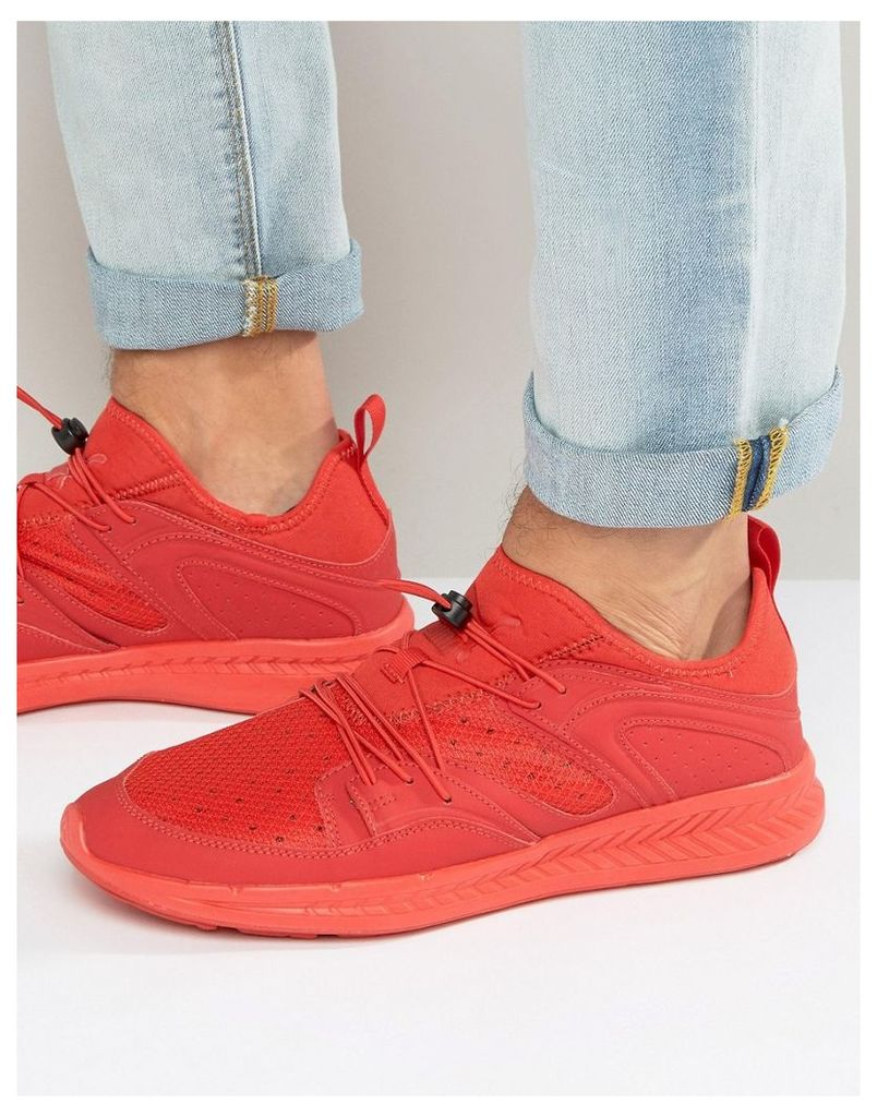 Puma Blaze Ignite Future Minimal Trainers Red 36228902 - Red