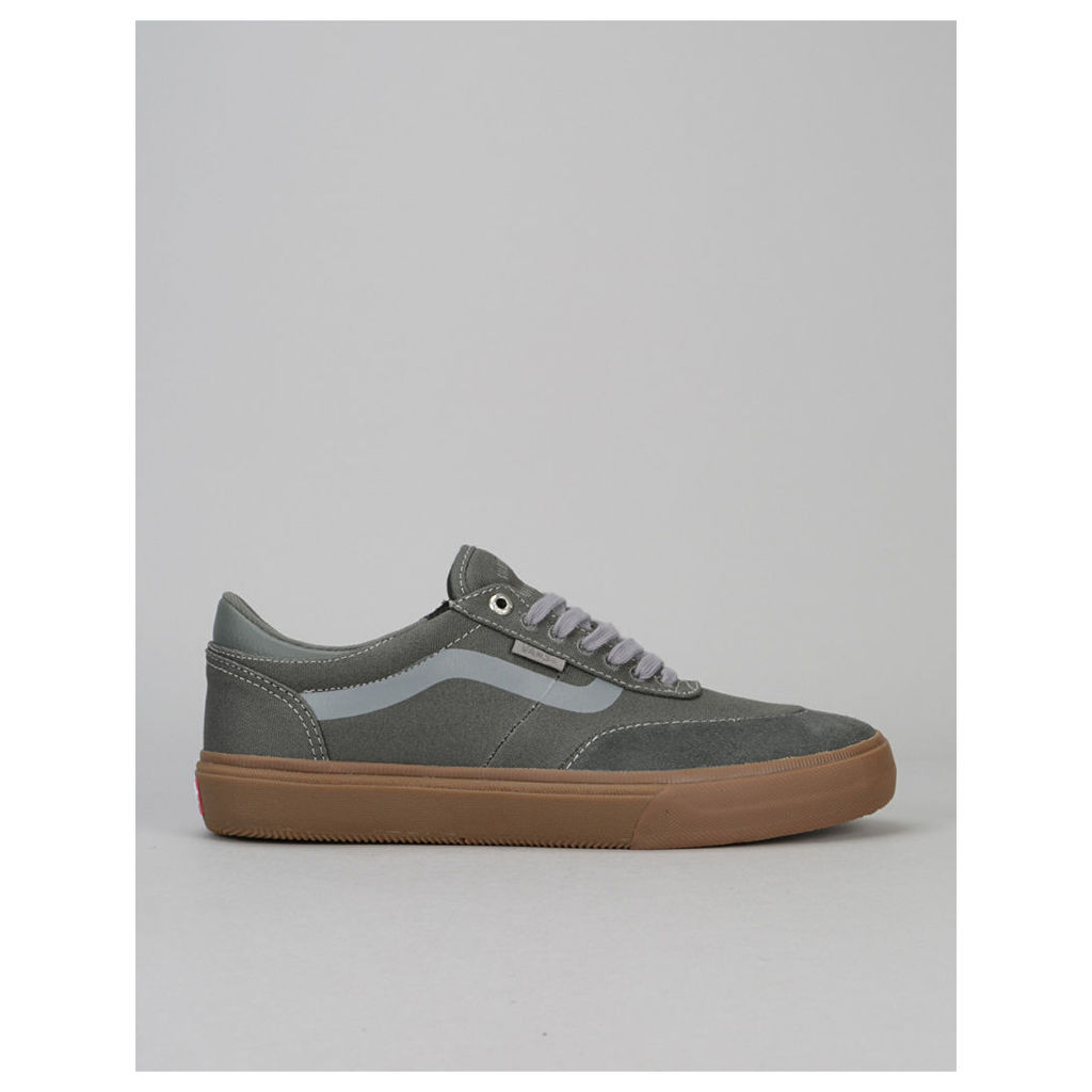 Vans Gilbert Crockett 2 Pro Skate Shoes - Gunmetal/Gum (UK 7)