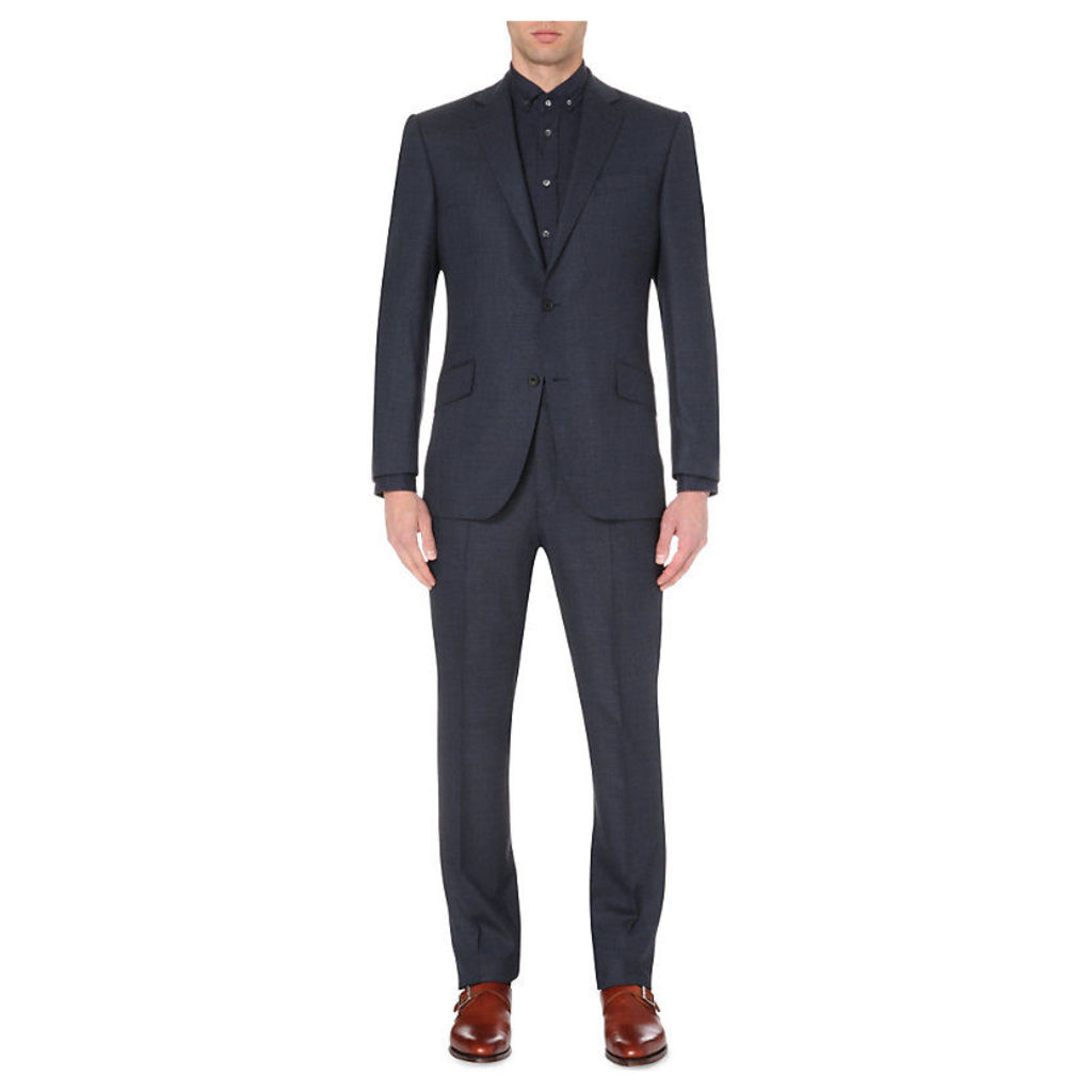 Mill single-breasted wool suit