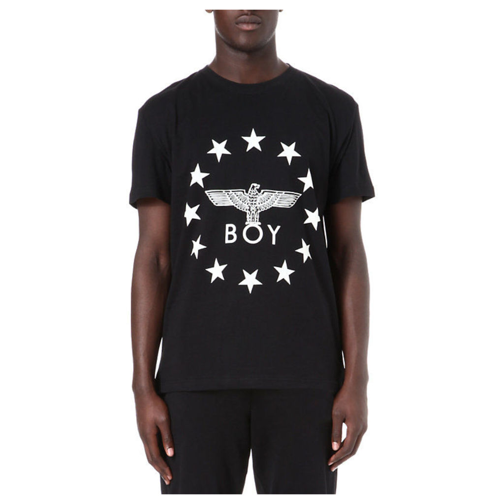 Boy London Eagle Star t-shirt, Mens, Size: XS, Black