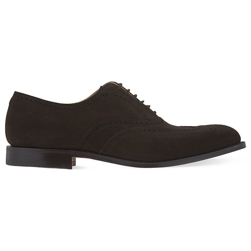 Church Berlin suede oxford shoes, Mens, Size: EUR 40 / 6 UK MEN, Dark brown