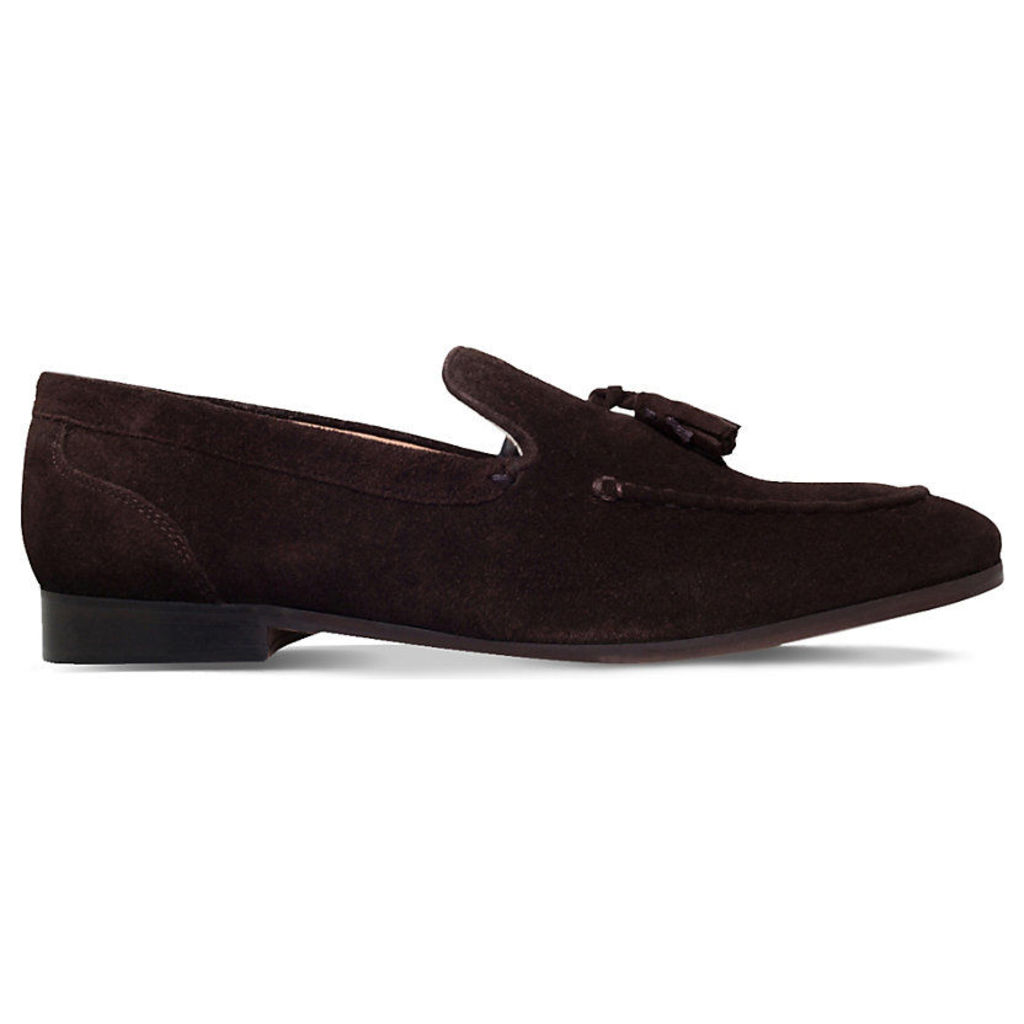 Kg Kurt Geiger Coleman suede loafers, Mens, Size: EUR 45 / 11 UK, Brown