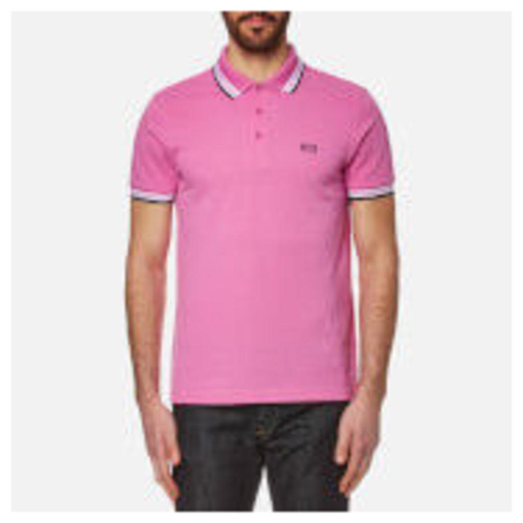 BOSS Green Men's Paddy Polo Shirt - Open Purple - L