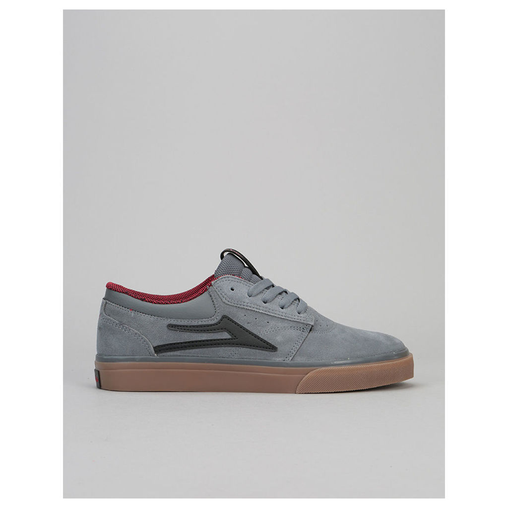 Lakai x Chocolate Griffin Skate Shoes - Grey/Gum Suede (UK 7.5)