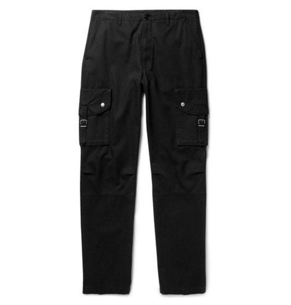 Maison Margiela - Cotton-twill Cargo Trousers - Black