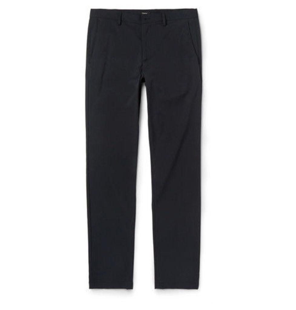 Theory - Zaine Neoteric Tech-jersey Trousers - Black