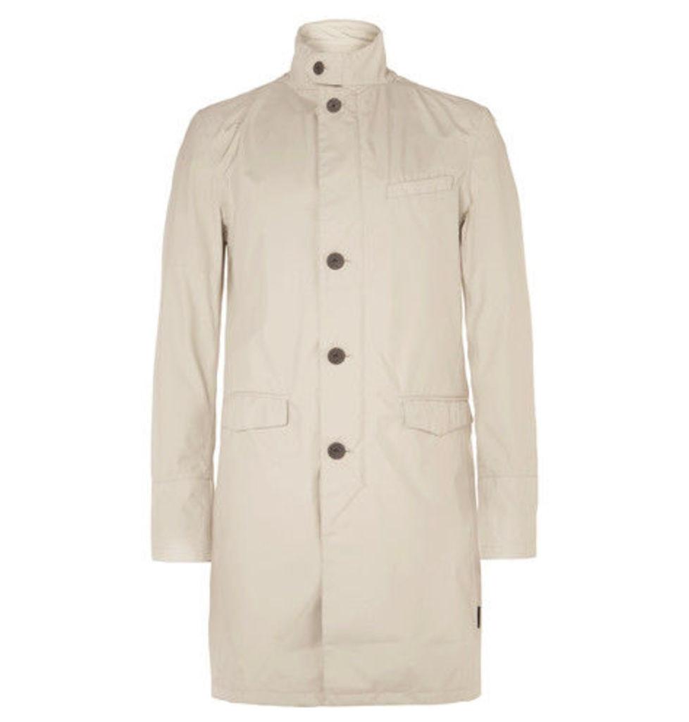 Herno Laminar - Slim-fit Gore-tex Paclite Shell Raincoat - Gray