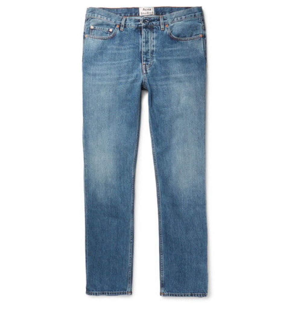 Acne Studios - Van Stonewashed Denim Jeans - Blue