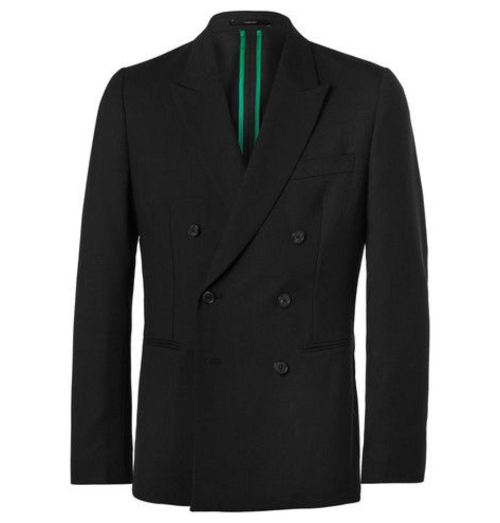 Paul Smith - Black Soho Slim-fit Double-breasted Wool Suit Jacket - Black