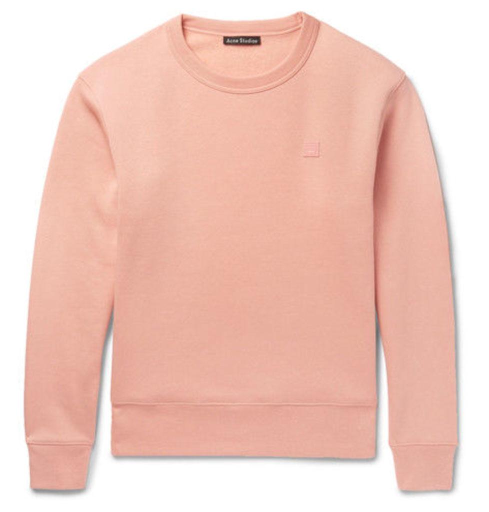 Acne Studios - Fairview Fleece-back Cotton-jersey Sweatshirt - Pink