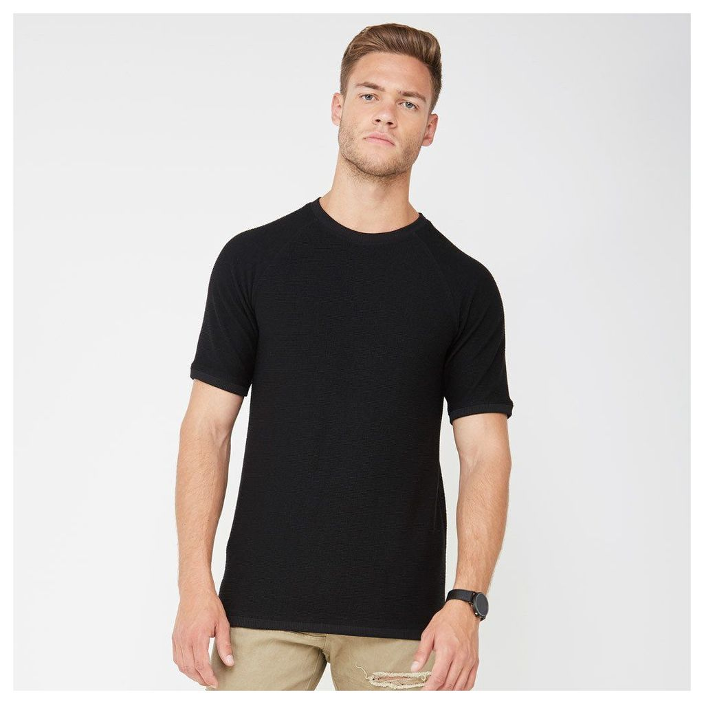 Textured Top - Black