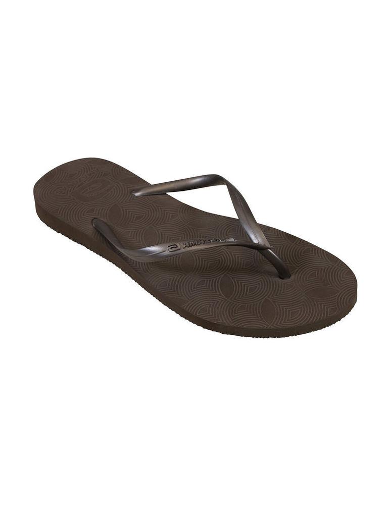 Amazonas Fun Flip Flop Brown Woman Flip-Flops