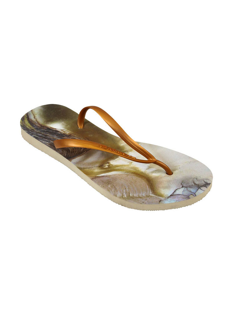 Amazonas Enjoy Concha Brown And Grey Woman Flip-Flops