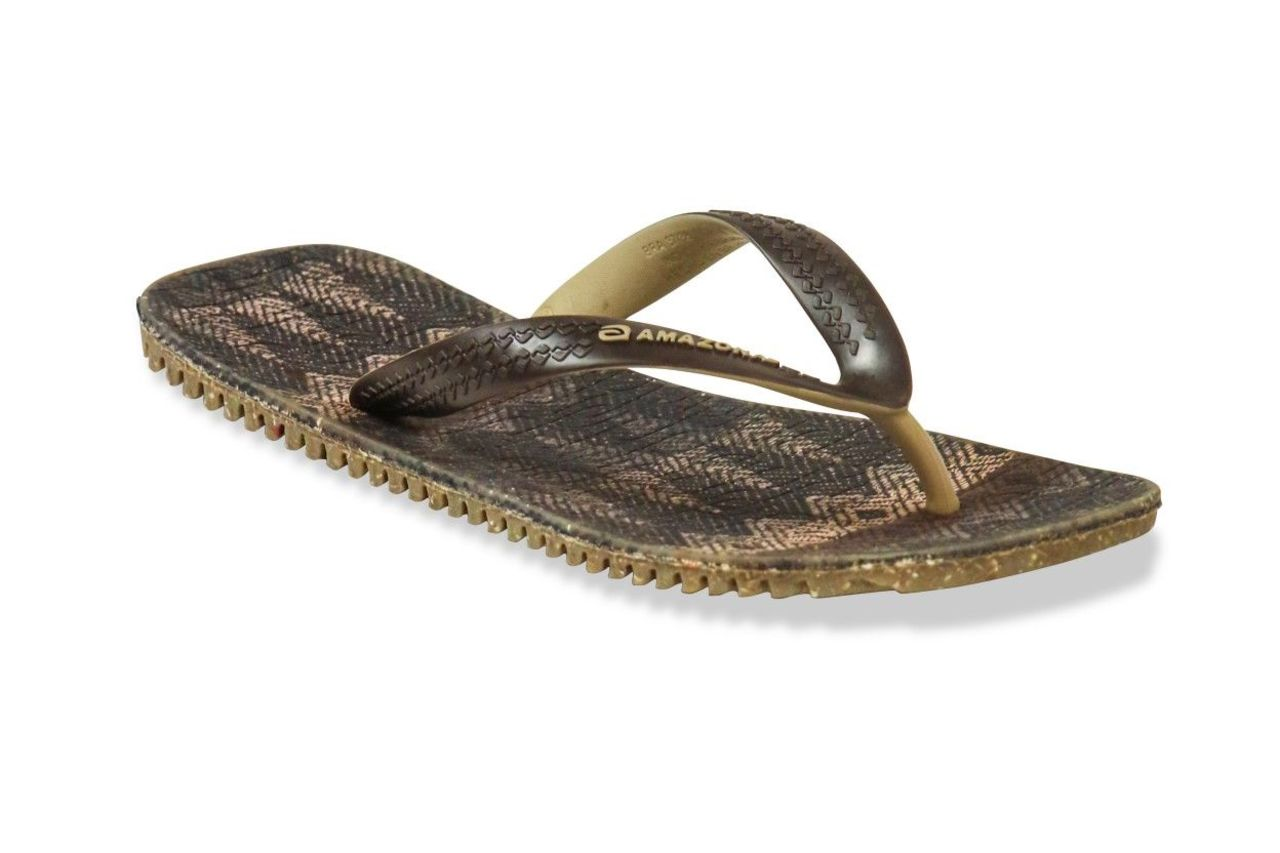 Amazonas Fun Flip Flop Fios Men Brown