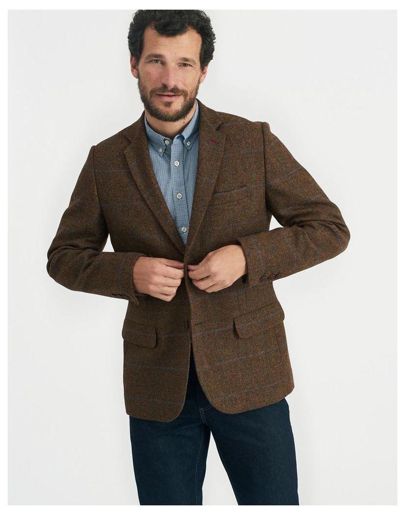 Asquith Tweed Langworth Tweed Blazer  Size 36 | Joules UK