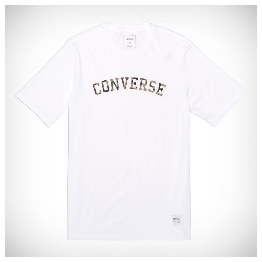 Converse Essentials Camo Star Tee