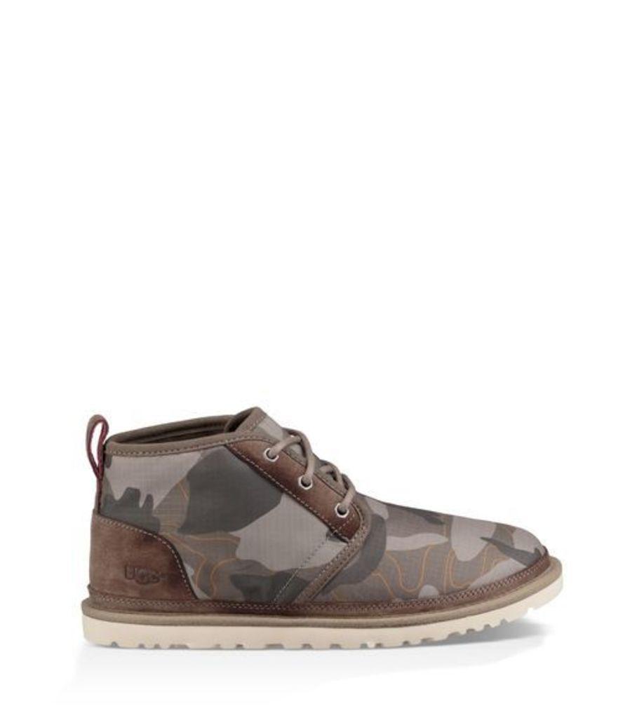 UGG Neumel Camo Mens Boots Brindle 12