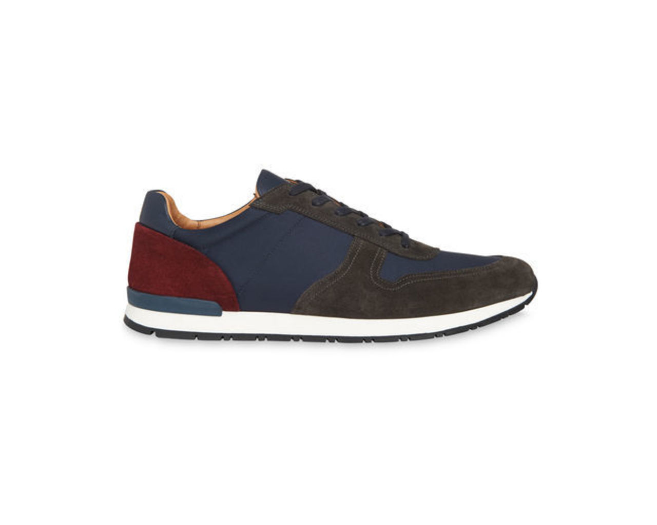 Leather Mix Runners