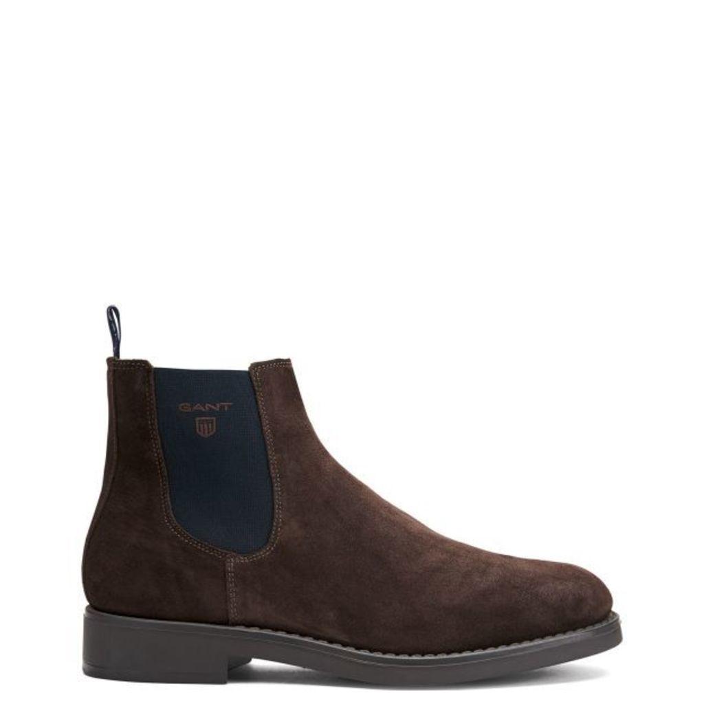 Oscar Boots - Dark Brown