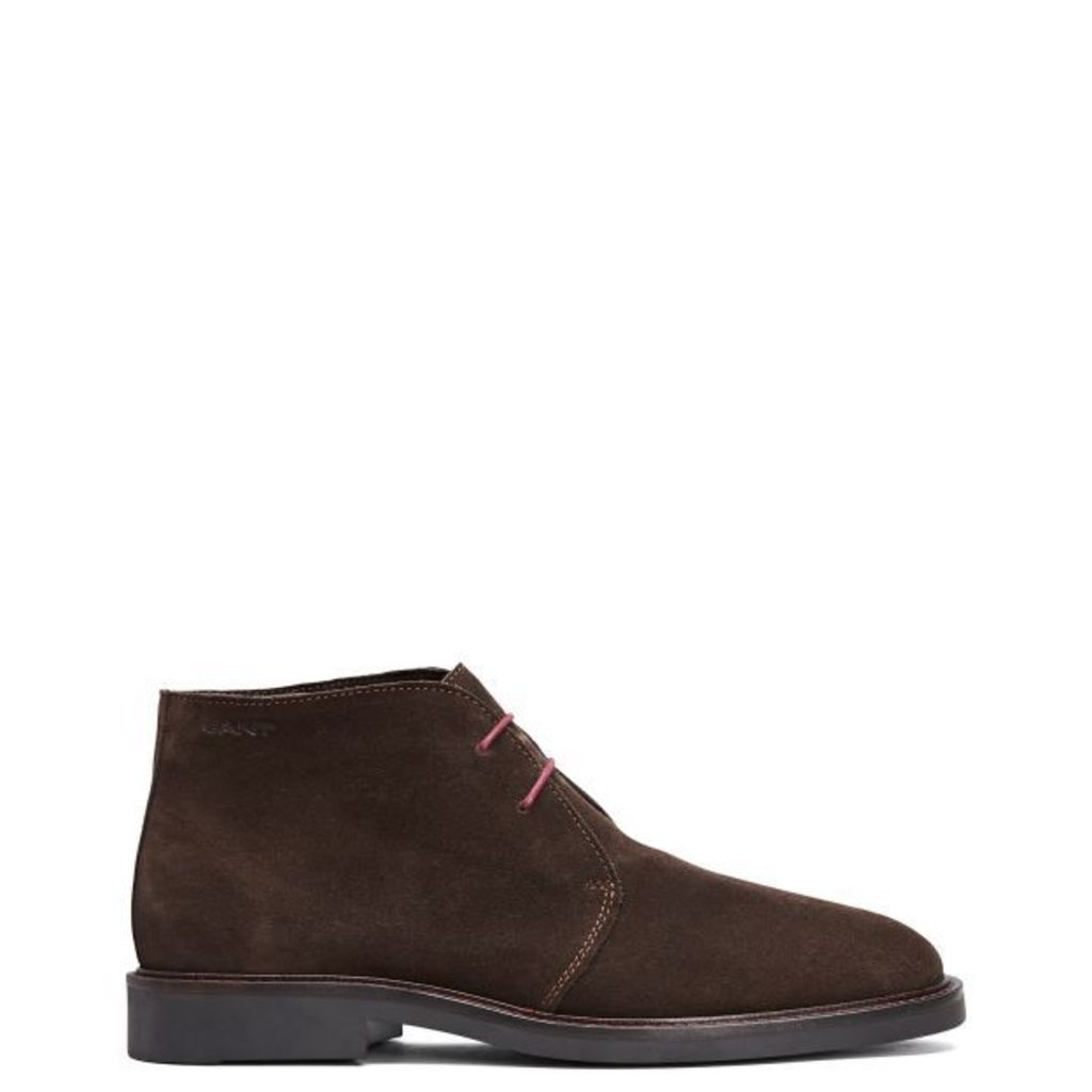 Spencer Derby Boots - Dark Brown
