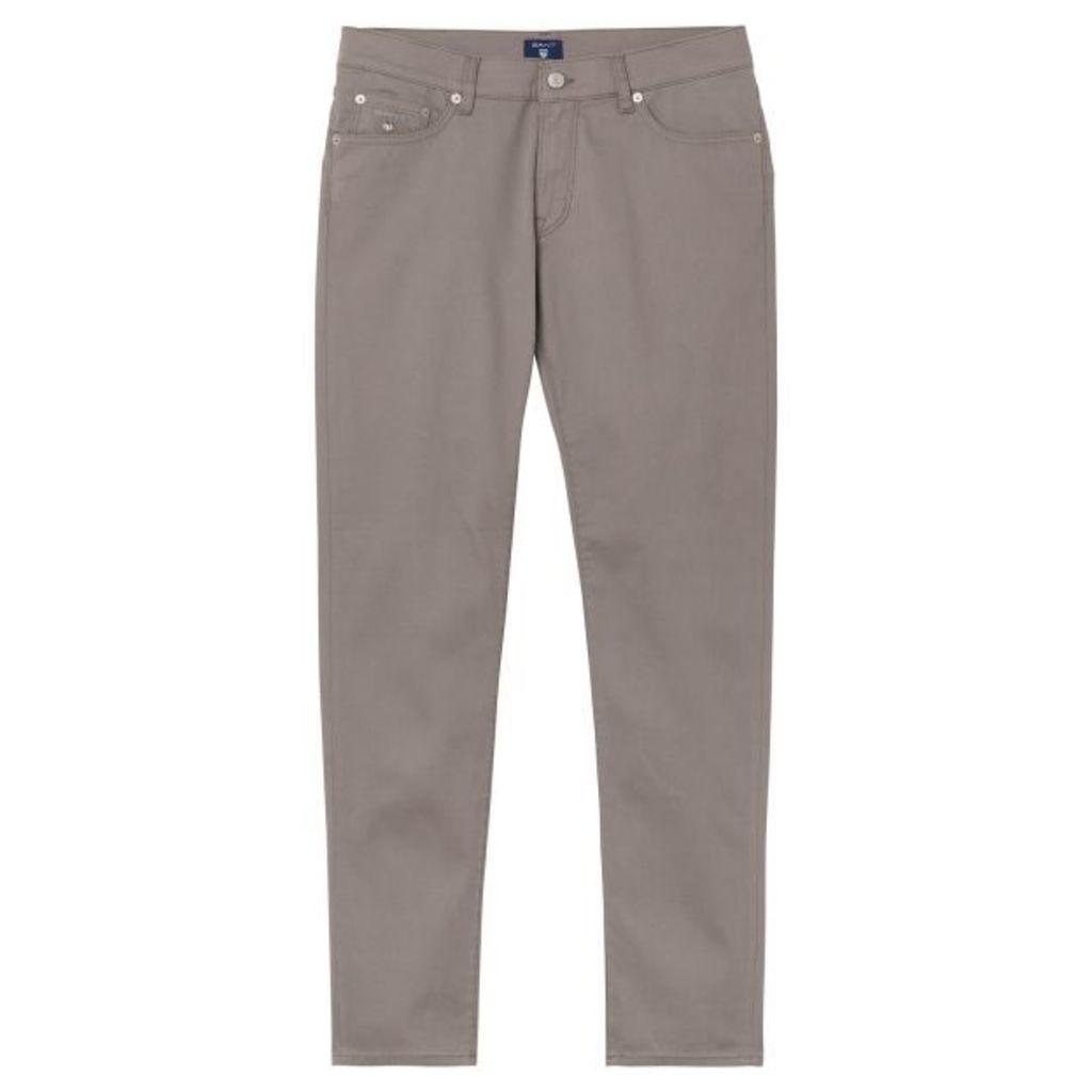 Slim Fit Bedford Jeans - Falcon Grey