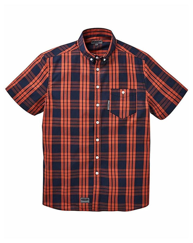 Voi Graze Check Shirt Long