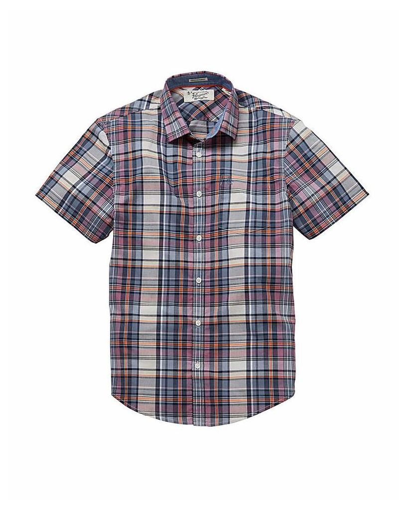 Original Penguin Chek SS Shirt Regular