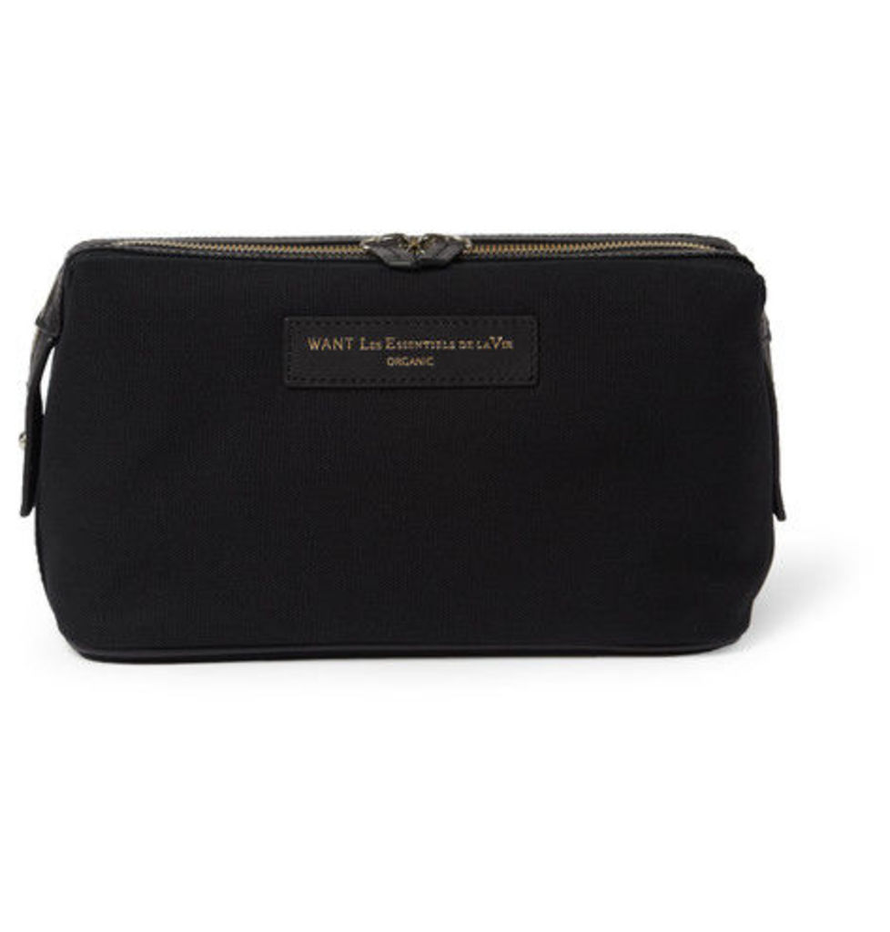 Kenyatta Organic Cotton-canvas Wash Bag