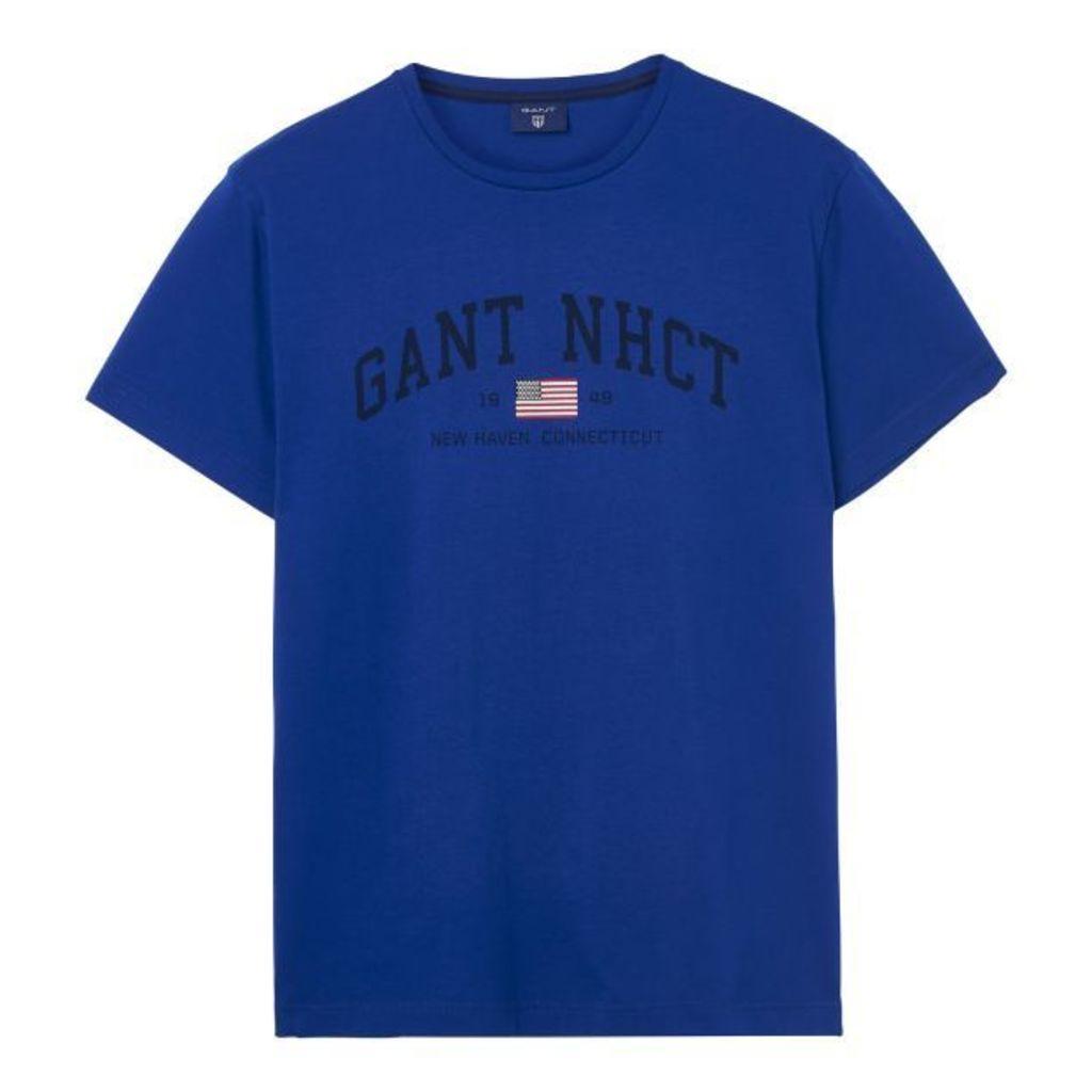 Short-sleeved Nhct T-shirt - Yale Blue