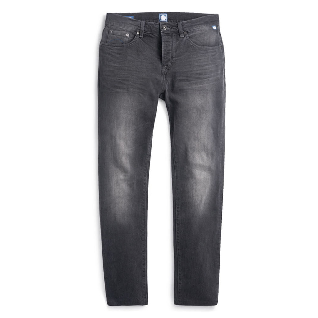 Pretty Green Men's Erwood Slim Fit Jeans - Grey - 28