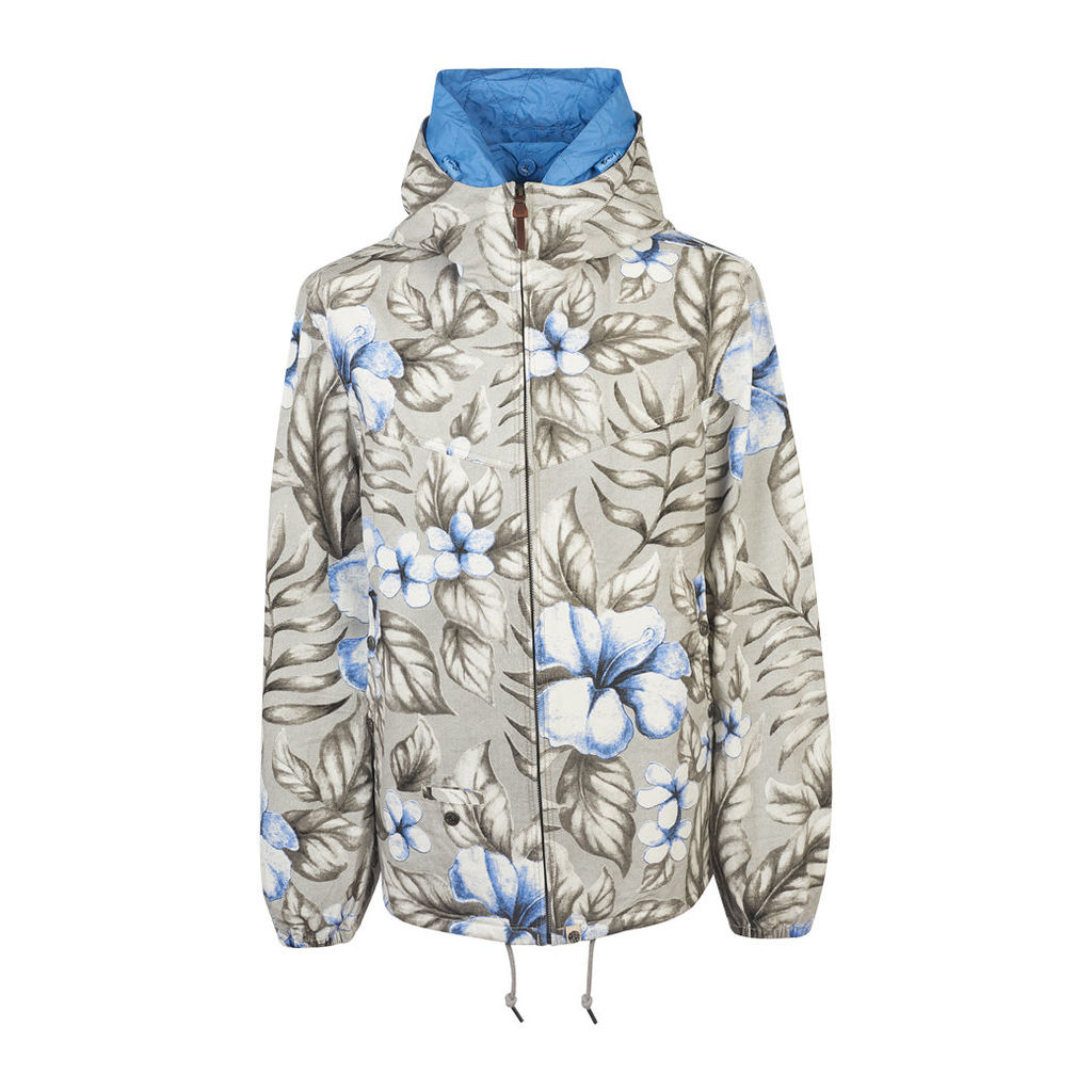 Pretty Green Men's Chilton Floral Jacket - Blue - L