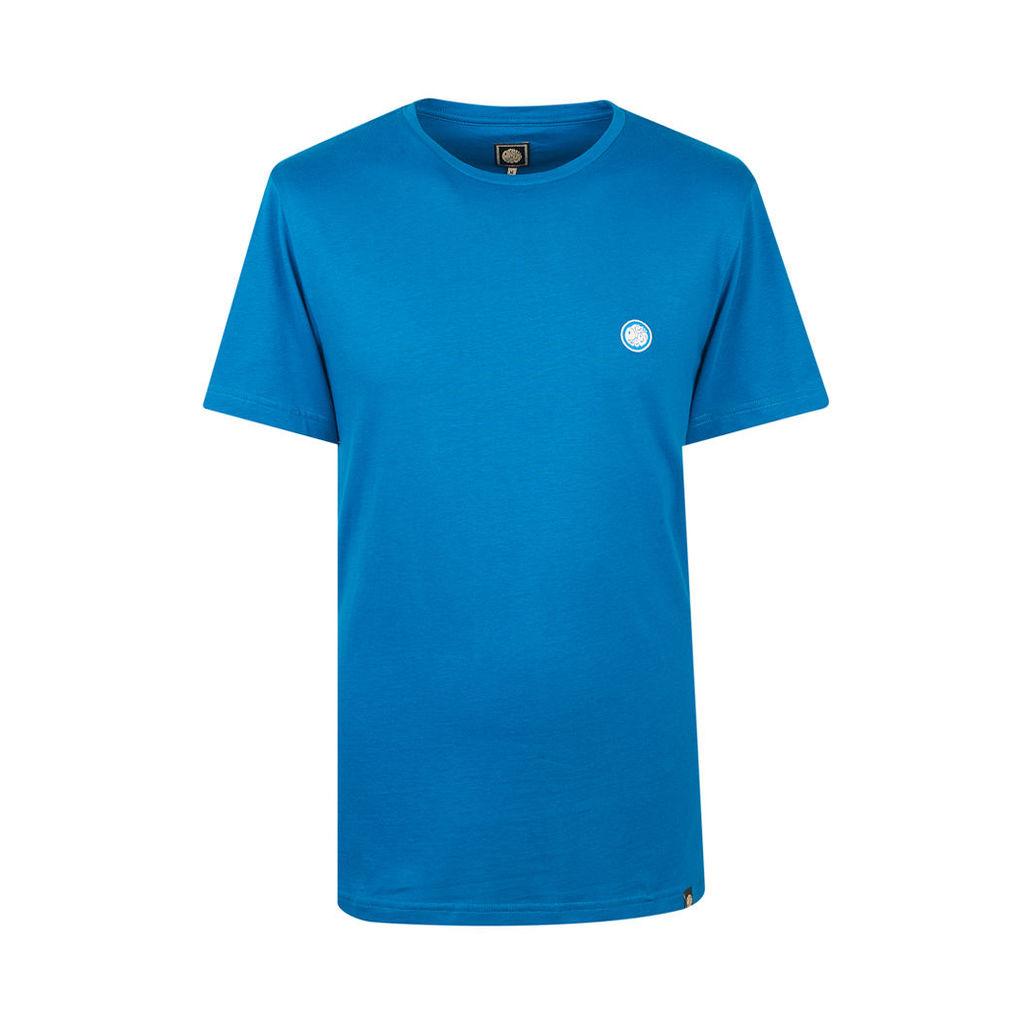 Pretty Green Men's Crew Neck T-Shirt - Turquoise - L