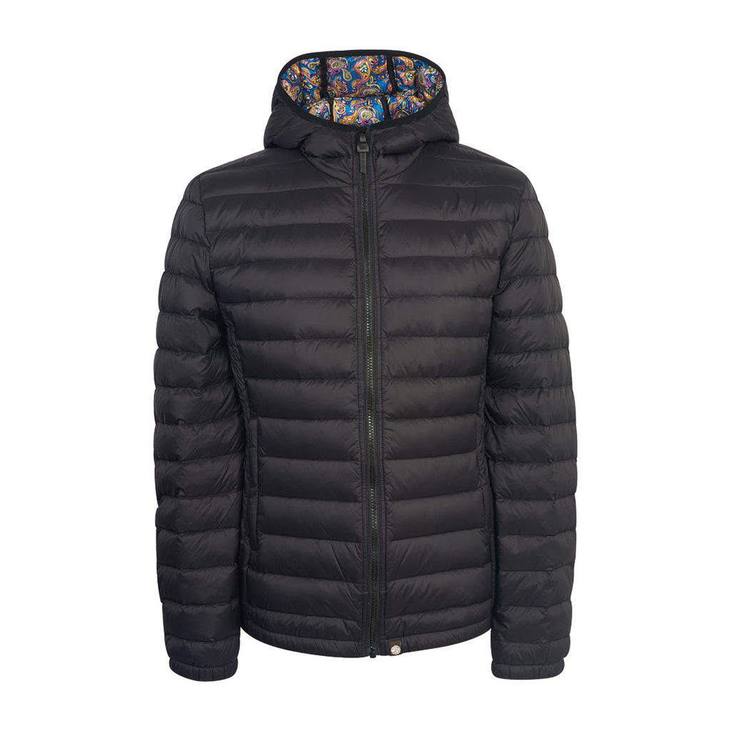 Pretty Green Men's Pembrook Quilted Jacket - Black - S