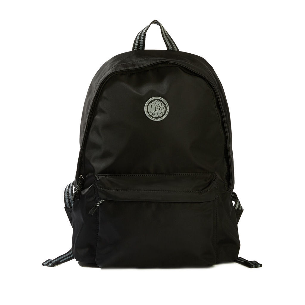 Pretty Green Men's Nylon Backpack - Black - One Size