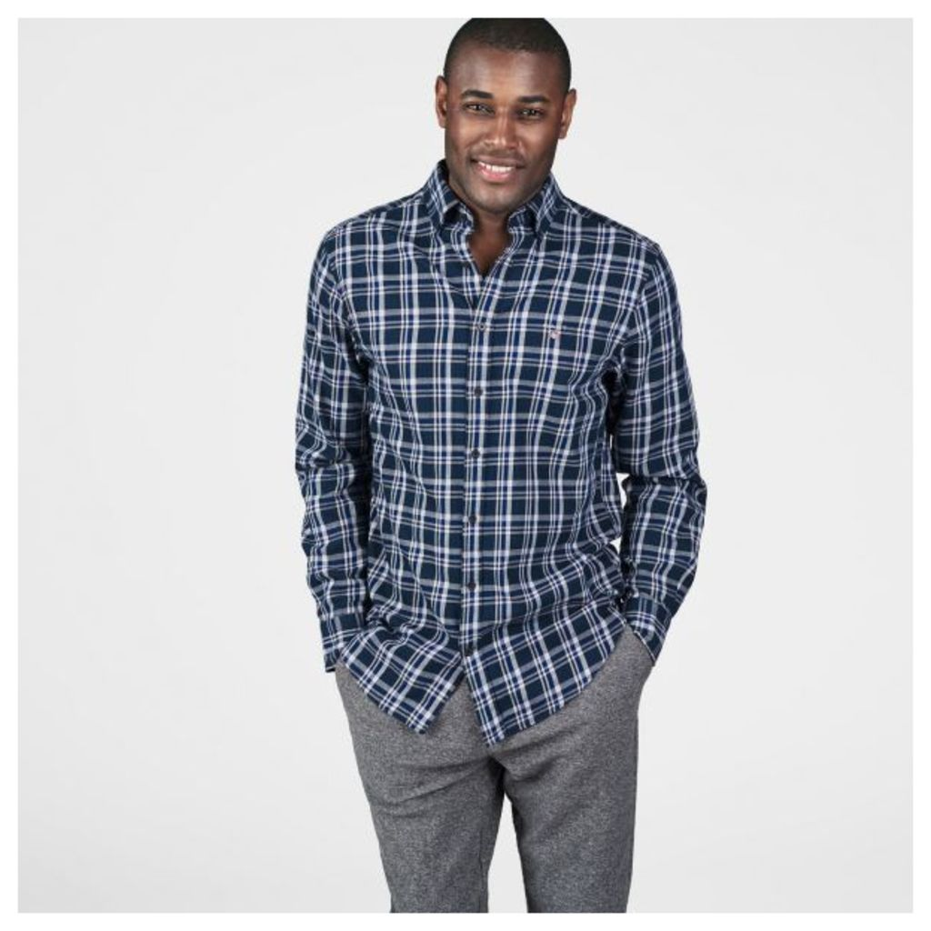 Nordic Multi Plaid Shirt - Ivy Green