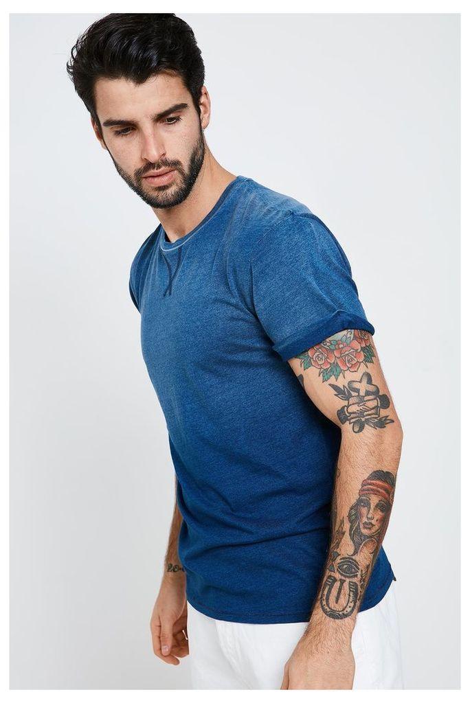 Threadbare Boardwalk T-Shirt - Blue