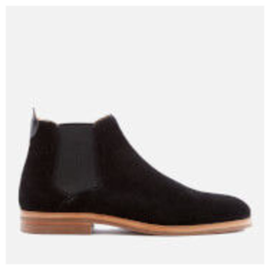 Hudson London Men's Tonti Suede Chelsea Boots - Black - UK 11