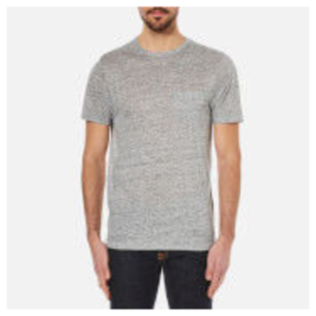 rag & bone Men's Owen Crew Neck T-Shirt - Light Heather Grey - L