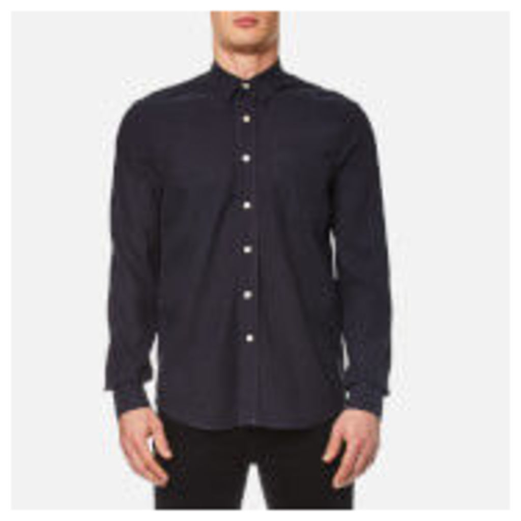 Our Legacy Men's Classic Silk Shirt - Navy - L