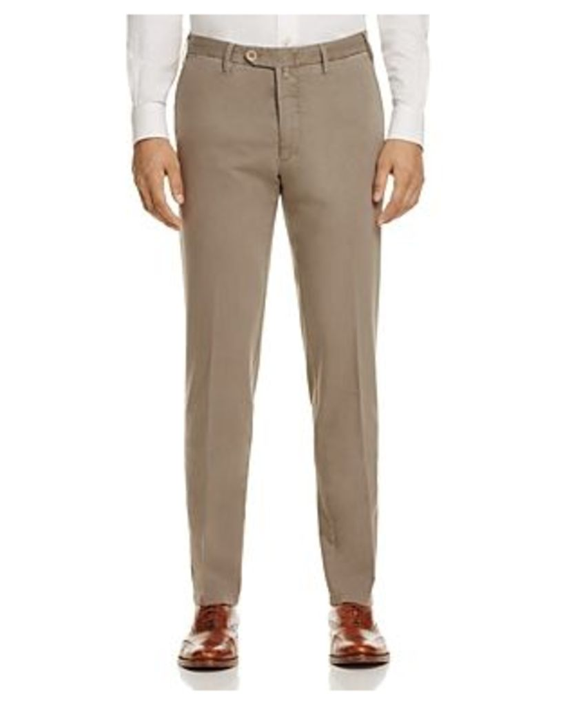 Valentini Stretch Cotton-Silk Classic Fit Trousers - 100% Exclusive