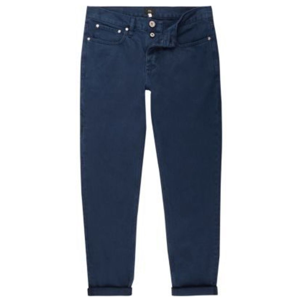 River Island Mens Blue Jimmy slim tapered jeans