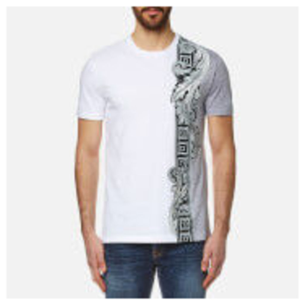 Versace Collection Men's Side Print T-Shirt - White - S
