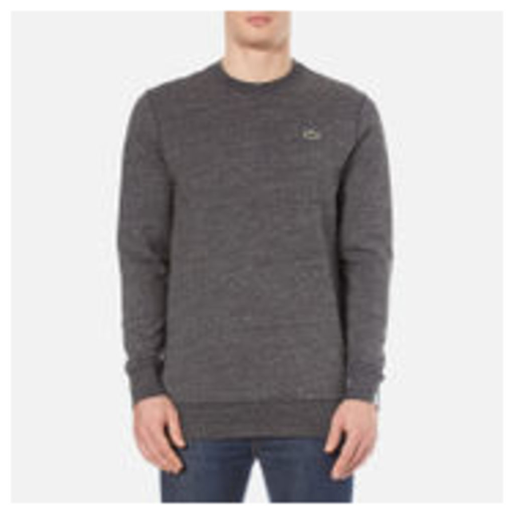 Lacoste L!ve Men's Crew Neck Sweatshirt - Carthusian Chine - 4/M